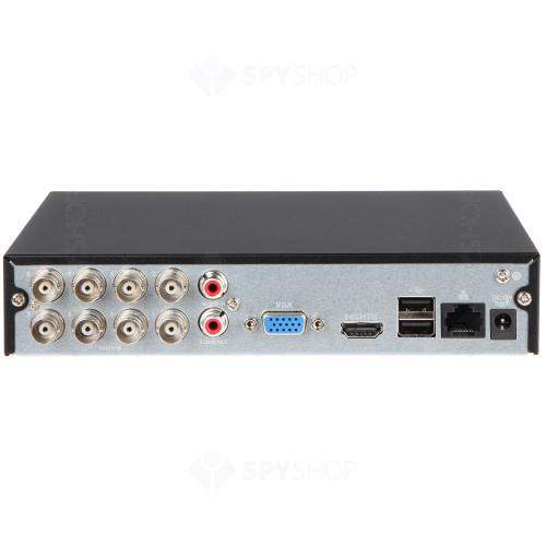 Sistem supraveghere exterior basic Dahua DH-B8EXT30-2MP-VF, 8 camere, 2 MP, IR 30 m