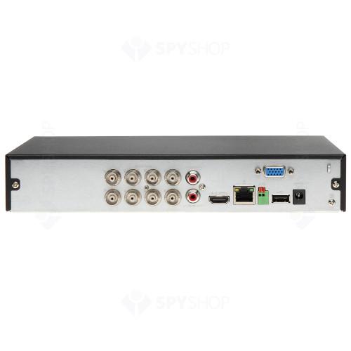 Sistem supraveghere exterior basic Dahua DH-B8EXT80-4MP, 8 camere, 4 MP, IR 80 m