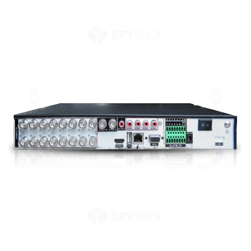 DVR Hybrid cu 16 canale video HV-HI 16DA-EL