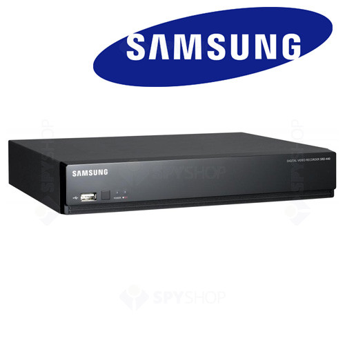 DVR stand alone cu 4 canale video Samsung SRD-440 P5G/EU