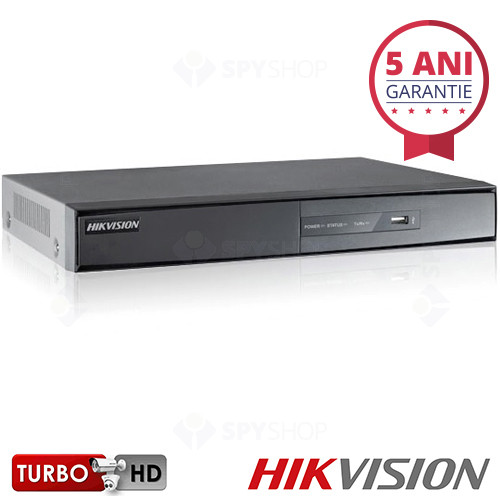 DVR stand alone cu 16 canale Hikvision TURBO HD DS-7216HGHI-SH