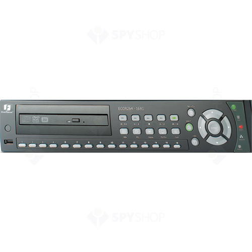 DVR Stand alone cu 16 canale video Everfocus ECOR 264-16X1