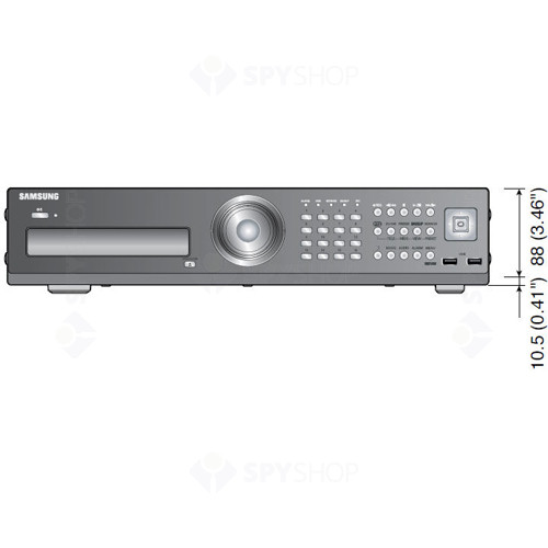 DVR Stand Alone cu 16 canale video Samsung SRD-1670DC 1TB