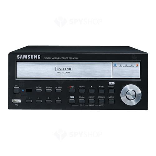 DVR stand alone cu 4 canale Samsung SRD-470D P1T/EU