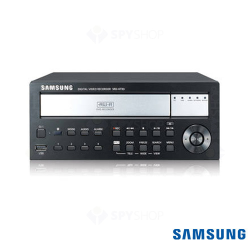DVR stand alone cu 4 canale SAMSUNG SRD-473D 1TB