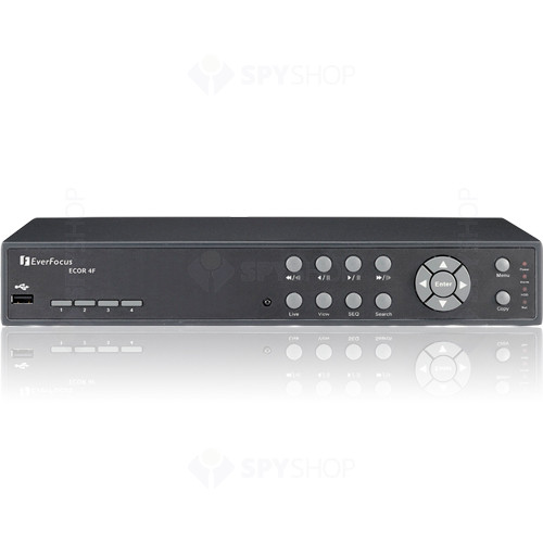 DVR Stand alone cu 4 canale video Everfocus ECOR4F