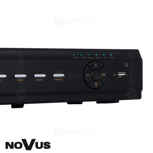 DVR Stand Alone cu 4 canale video Novus NDR-BA6104