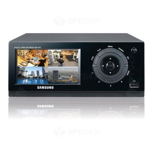 DVR Stand alone cu 4 canale video Samsung SRD-442 500GB