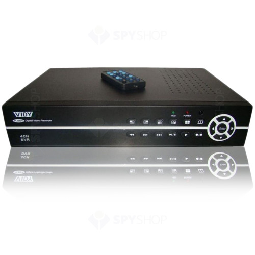 DVR Stand alone cu 4 canale video Vidy VDVR-4F