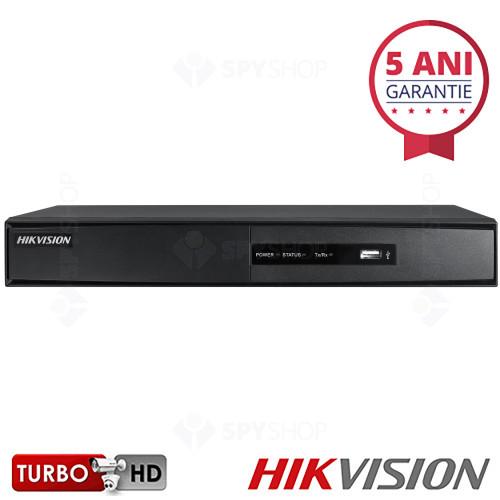 DVR hibrid cu 16 canale Turbo HD Hikvision DS-7216HGHI-SH/A