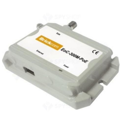 Ethernet over coaxial brickcom EOC-300S-POE