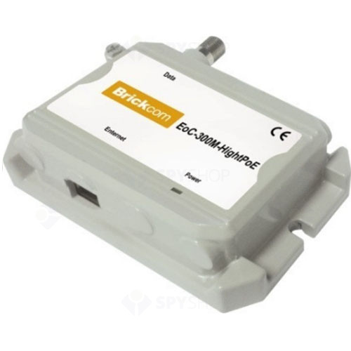 Ethernet peste coaxial BRICKCOM EOC-300S-HIGHPOE