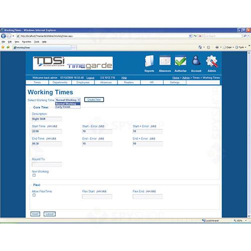 Extensie software pentru ExGuard Pro TDSI 4420-2600 TimeGarde