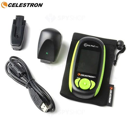 GPS portabil CoursePro Elite Negru pentru Golf Celestron 44876