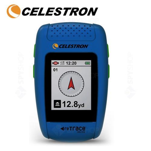 GPS portabil reTrace Deluxe Albastru Celestron 44856