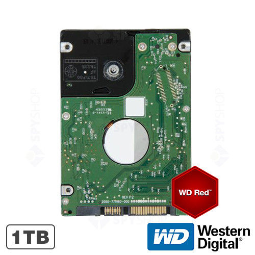 Hard disk 1TB IntelliPower RPM 16MB WD RED Western Digital WD10JFCX