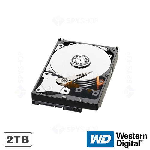 Hard disk 2TB 5400RPM 64MB WD GREEN Western Digital WD20EURX