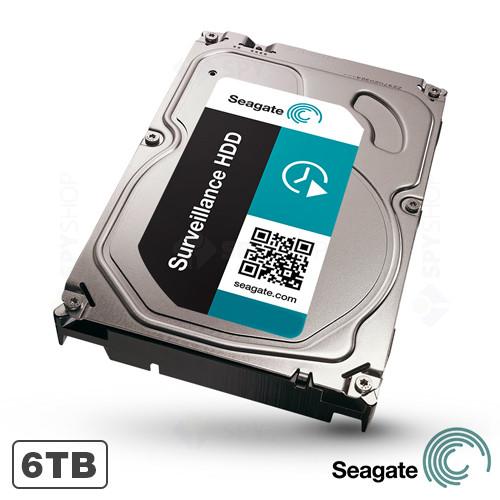 Hard disk 6TB 7200RPM 128MB Seagate Surveillance HDD ST6000VX0001