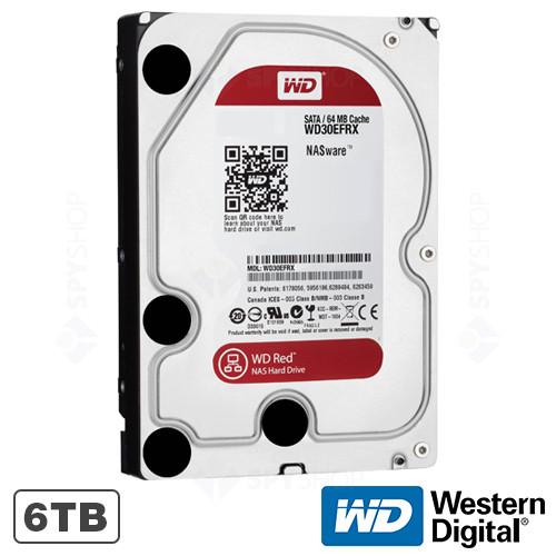 Hard disk 6TB IntelliPower RPM 64MB WD RED Western Digital WD60EFRX