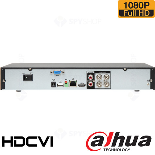 SISTEM SUPRAVEGHERE INTERIOR HDCVI CU 4 CAMERE VIDEO DAHUA CVI-4INT30-1080P