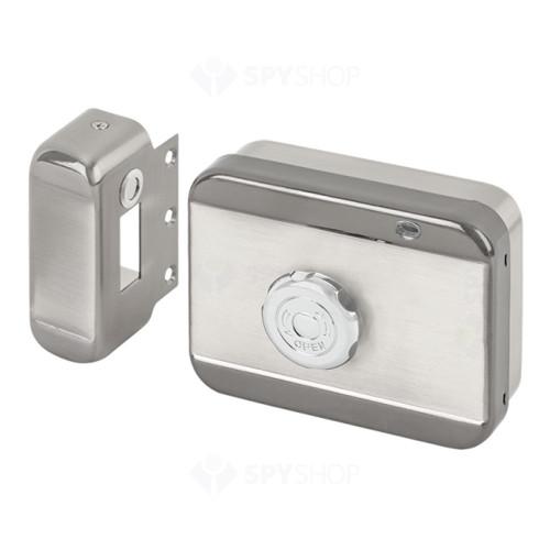 Incuietoare cu senzor magnetic DJ02(MVM)-FL, 2000 kgf, aparent, 12-24 Vcc