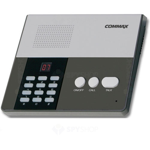 Interfon de birou Commax CM-810, 10 posturi, aparent, 2 fire
