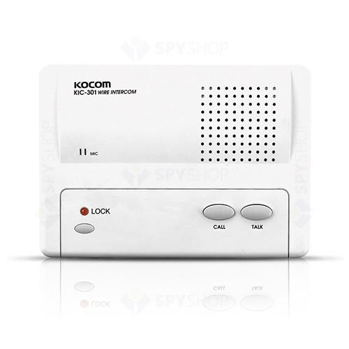 Interfon de birou Master cu 1 canal Kocom KIC-301