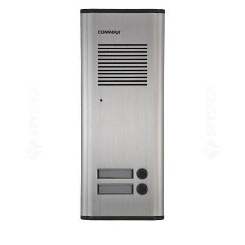 Interfon de exterior Commax DR2KM, 2 familii, 12 VDC, ingropat