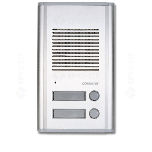 Interfon de exterior Commax DR-2AG, 2 familii, ingropat, 2 fire