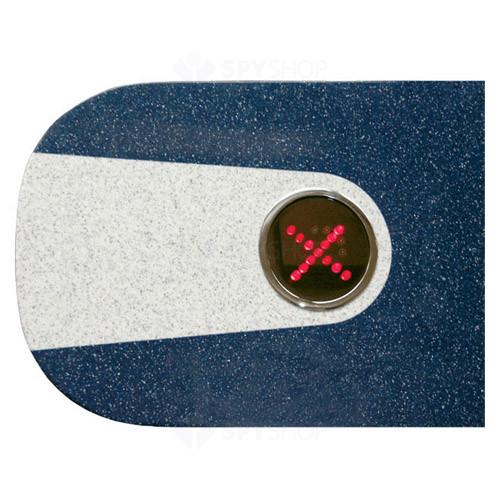 Invelis exterior pentru turnichet Perco C-03G blue