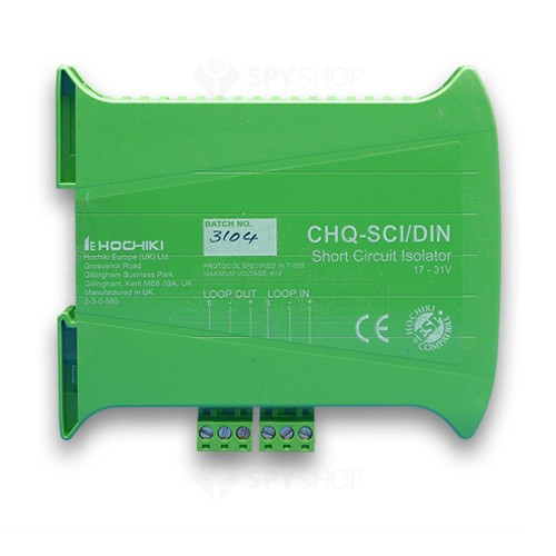 Izolator la scurt-circuit cu sina DIN CHQ-SCI/DIN