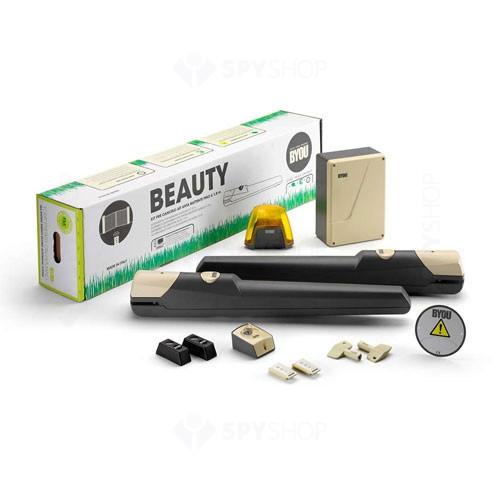 Kit automatizare poarta batanta Byou Beauty, 200 Kg/canat, 2 m/canat, 24 V