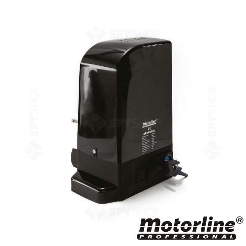 Kit automatizare poarta culisanta Motorline BRAVO500, 500 Kg, 7 m, 230 Vac