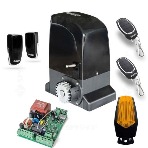 Kit automatizare poarta culisanta Motorline KIT OL1500, 110/230 V, 1500 Kg, 550 W