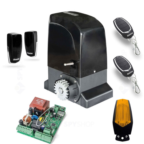 Kit automatizare poarta culisanta Motorline KIT OL2000, 110/230 V, 2000 Kg, 15 m