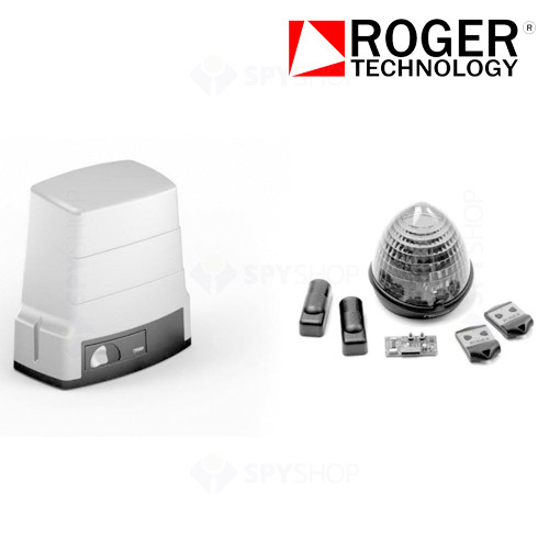 KIT automatizare poarta culisanta Roger Technology H30/640