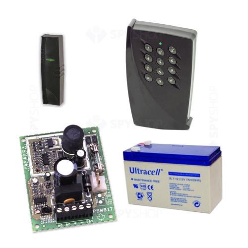Kit control acces pentru PROMI1000PC, 1000 utilizatori, 1000 evenimente