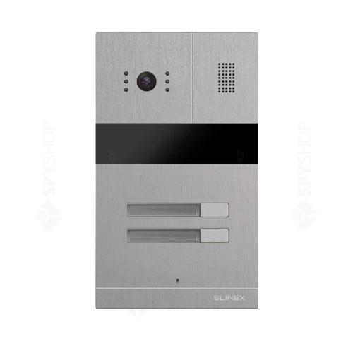 Kit videointerfon Slinex MA-02+MA-08+10xSQ-04M-B, 10 familii, ingropat, 4.3 inch