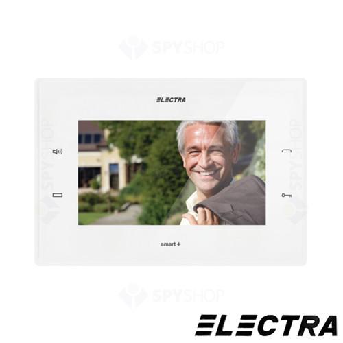 Kit videointerfon Electra Touch Line Smart+ VKM.P1FR.T7S4.ELW04, 1 familie, ingropat, ecran 7 inch