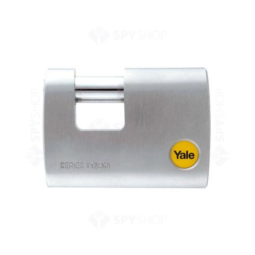 Lacat de alama cu veriga ingropata YALE Y124/70/115/1, cheie