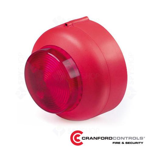 Lampa conventionala de incendiu Cranford Controls VXB-1-DB-WB-RL