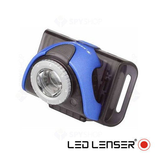 Lanterna pentru bicicleta albastru Led Lenser SEO B5R - 180 Lumeni