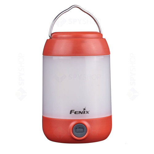 Lanterna pentru camping Fenix CL23, 300 lumeni, 20 m, rosu