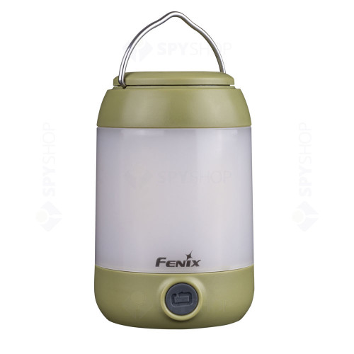 Lanterna pentru camping Fenix CL23, 300 lumeni, 20 m, verde