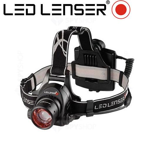 Lanterna profesionala pentru cap LED Lenser H14.2 - 350 Lumeni