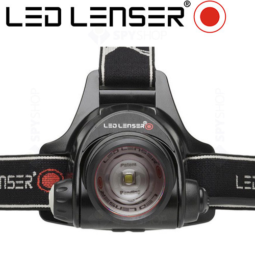 Lanterna profesionala pentru cap LED Lenser H14R.2  - 850 Lumeni