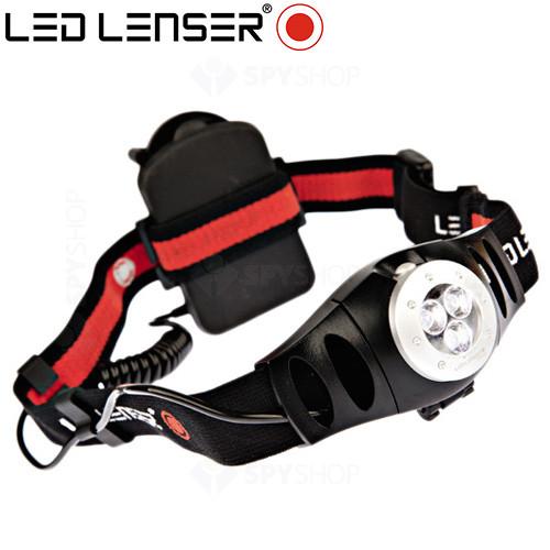 Lanterna profesionala pentru cap LED Lenser H3 - 60 Lumeni