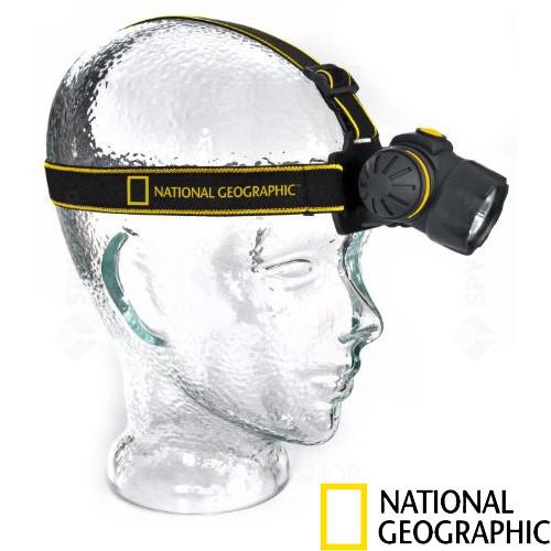 Lanterna pentru cap LED National Geographic 9082000
