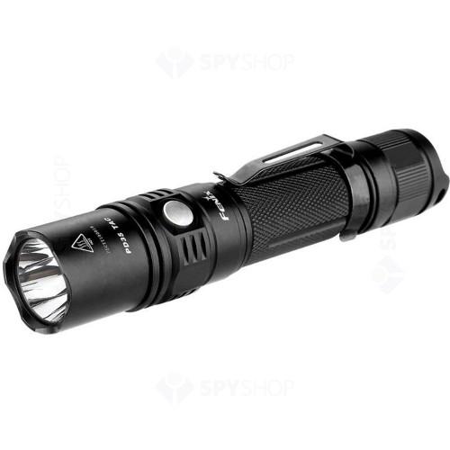 Lanterna profesionala Fenix PD35 Tactical, 1000 lumeni, 200 m, negru