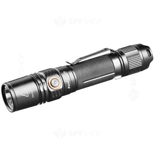 Lanterna profesionala Fenix PD35 V2.0 Tactical, 1000 lumeni, 250 m, negru